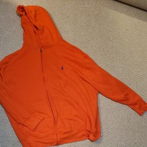 Polo Ralph Lauren orange hoodie sz 3xb